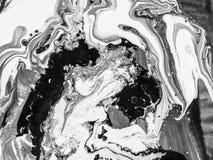 Peinture abstraite faite main Surréalisme et mysticisme Peinture abstraite de fond Photos libres de droits