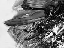 Peinture abstraite faite main Surréalisme et mysticisme Peinture abstraite de fond Photo stock