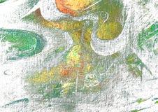 Peinture abstraite par l'huile sur la toile, illustration Image libre de droits