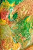 Peinture abstraite par le flux d'air photo libre de droits