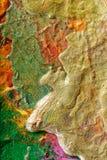 Peinture abstraite par le flux d'air photo stock