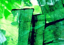 Peinture abstraite, structure peinte décorative, peinture moderne, structure de couleur, courses de brosse, modèle en plastique d illustration de vecteur