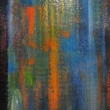 Peinture abstraite texturisée Image libre de droits