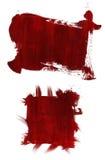 Peinture acrylique encadrée Photographie stock libre de droits