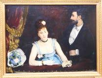 Peinture aux Frances de Paris de musée d'Orsay - ` Orsay de Musee d Photos libres de droits