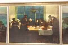 Peinture aux Frances de Paris de musée d'Orsay - ` Orsay de Musee d Image libre de droits