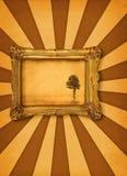 Peinture avec l'arbre Photo stock