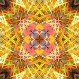 Peinture belle Mandala Background florale colorée abstraite de Digital Photo libre de droits