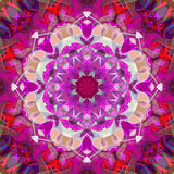 Peinture belle Mandala Background florale colorée abstraite de Digital Photos stock