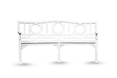Peinture blanche de chaise en bois moderne décorative de style, genre de furnit Photos stock