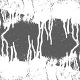 Peinture blanche de texture Photographie stock