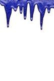 Peinture bleue Images libres de droits