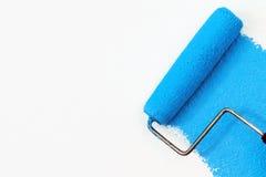 Peinture bleue photographie stock libre de droits