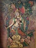Peinture bouddhiste Photographie stock