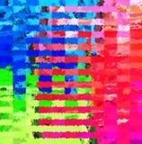 Peinture chaotique de brosse d'éclaboussure d'abrégé sur peinture de Digital dans le noir, le blanc et le Gray Colors Background illustration stock