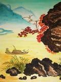 Peinture chinoise Photographie stock