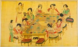 Peinture classique Image stock