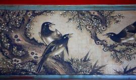 Peinture classique chinoise images libres de droits