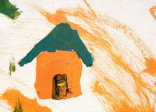 Peinture colorée Photos libres de droits