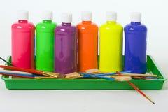 Peinture colorée Images stock