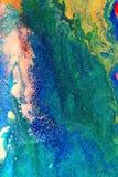 Peinture colorée abstraite image libre de droits