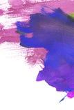 Peinture colorée abstraite Photographie stock