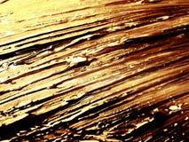 Peinture colorée d'or Photographie stock libre de droits