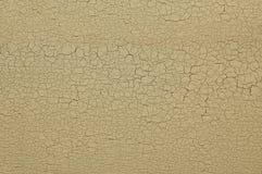 Peinture criquée sur le mur Image libre de droits