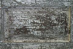 Peinture criquée d'écaillement Photos stock