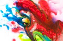 Peinture débordante Images stock