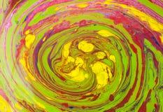 Peinture débordante Photographie stock libre de droits