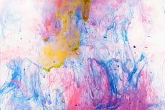 Peinture débordante Photo libre de droits