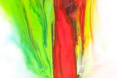 Peinture débordante Images libres de droits