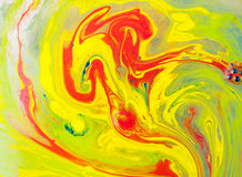 Peinture débordante Photos stock