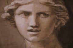 Peinture décorative à Rome Photo stock