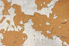 Peinture d'écaillement sur le mur Photographie stock libre de droits