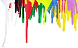 Peinture d'égoutture Photo stock