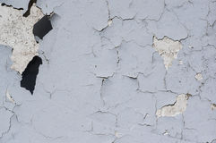 Peinture d'épluchage de mur ou fendu photos stock