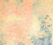 Peinture d'épluchage sur la texture sans couture de mur Modèle de matériel grunge bleu rustique Images stock