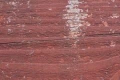 Peinture d'épluchage sur le bois - fond. Images stock
