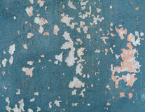 Peinture d'épluchage sur le mur photographie stock
