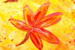 Peinture d'aquarelle image libre de droits