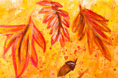 Peinture d'aquarelle photographie stock libre de droits