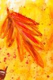 Peinture d'aquarelle photographie stock