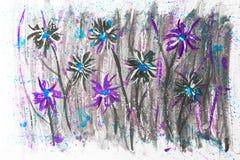 Peinture d'aquarelle photos libres de droits