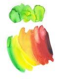 Peinture d'aquarelle illustration stock