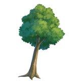 peinture d'arbre Photos stock