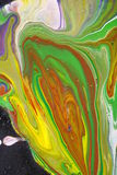 Peinture d'art abstrait images libres de droits