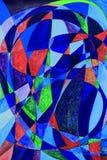 Peinture d'art abstrait de Serenethos Photographie stock libre de droits