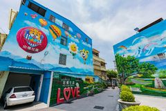 Peinture d'art de la communauté 3D de Zhongquan Photographie stock libre de droits